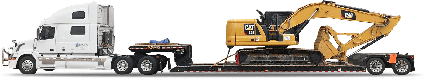 heavy haulers - heavy equipment transporters - truck haul tracking company - heavy equipment transport near me - EliteOne Transportation - heavy equipment haulers trucking Services - Footer Background